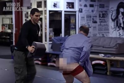 Video: Sacha Baron Cohen Got Jason Spencer To Strip Naked On Tv During 'who Is America?'