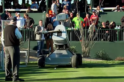 Video: At The Phoenix Open, A Robot Named After Tiger Woods Hit A Hole In One
