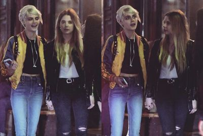 Video: Ashley Benson And Cara Delevingne Spotted Kissing In Heathrow Airport!