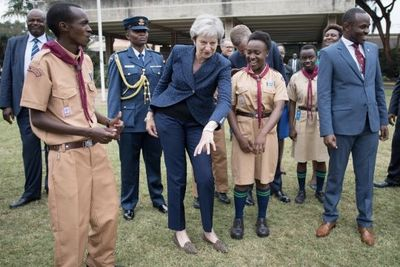 British Prime Minister, Theresa May, Can't Dance