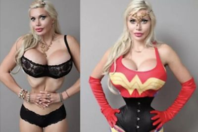 Woman Gets 200 Procedures To Look Like Wonder Woman