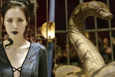 JK Rowling Defends Casting Actress As Voldemort's Snake Nagini