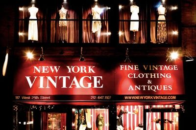 New York's Elite Vintage Shop