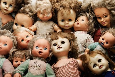 Haunted Dolls Caught On Tape