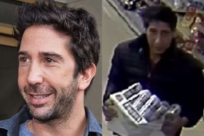 David Schwimmer Wanted By Blackpool Police For Stealing Beer