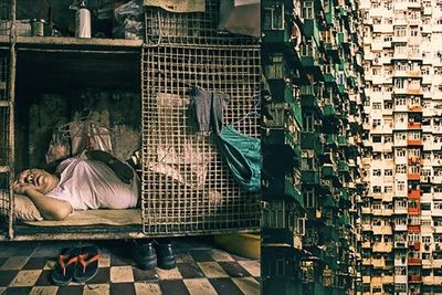 Hong Kong's Cage Homes