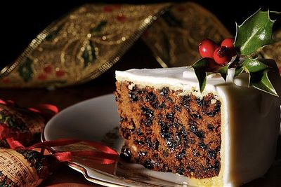 Traditional Christmas Fruit Cake Recipe