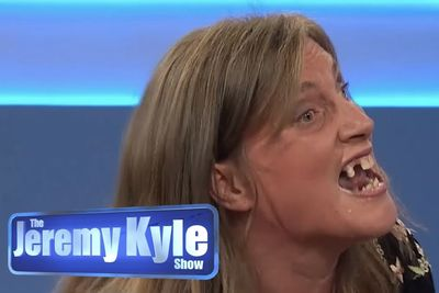 Extremely Angry Woman On The Jeremy Kyle Show