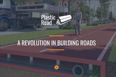 Roads Made With Recycled Plastic