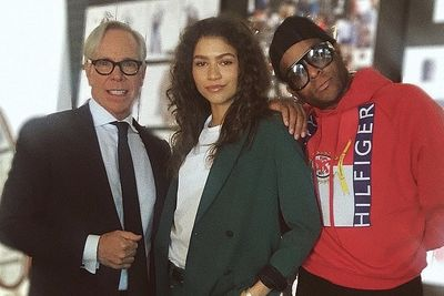 Tommy Hilfiger Collaborates With Zendaya For The Spring 2019 Collection