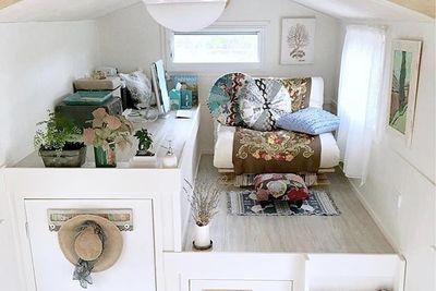 Tiny Dream House Even Has A Walk-In Wardrobe