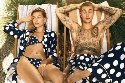 Justin and Hailey Bieber Vogue Cover