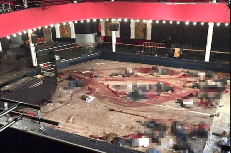 Video: Inside The Theatre Of Terror - The Arrival Of Terrorists In Bataclan Theatre Killing. 1