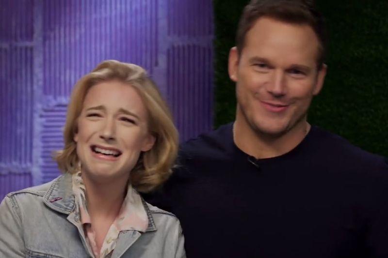 Video: Courtney Miller Is Exposed In Front Of Chris Pratt 1