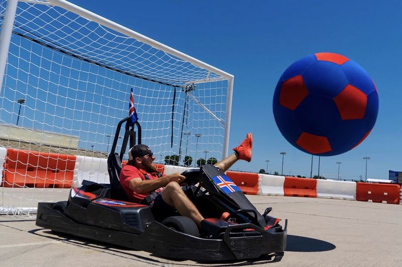 Video: Go Kart Soccer, Compliments Of Dude Perfect 1