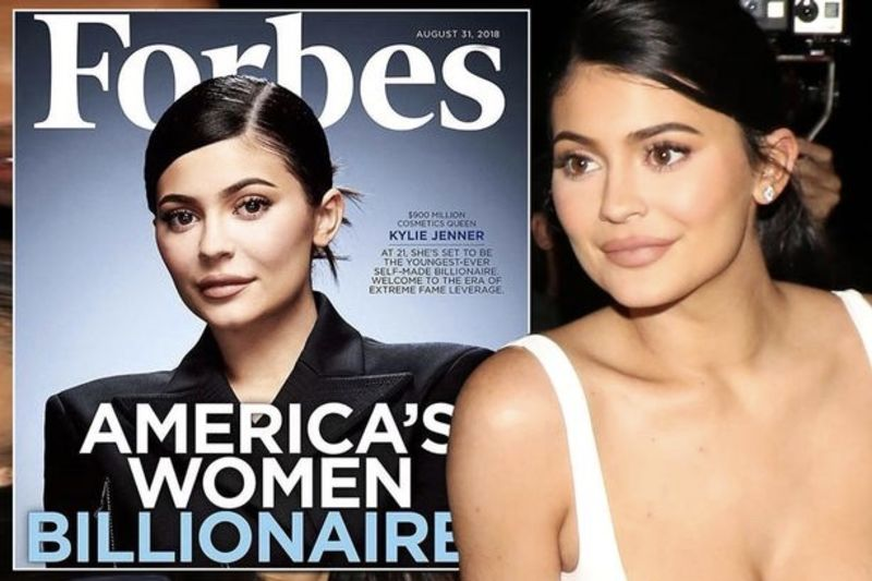 Video: Kylie Jenner On The Cover Of Forbes As A Billionaire 1