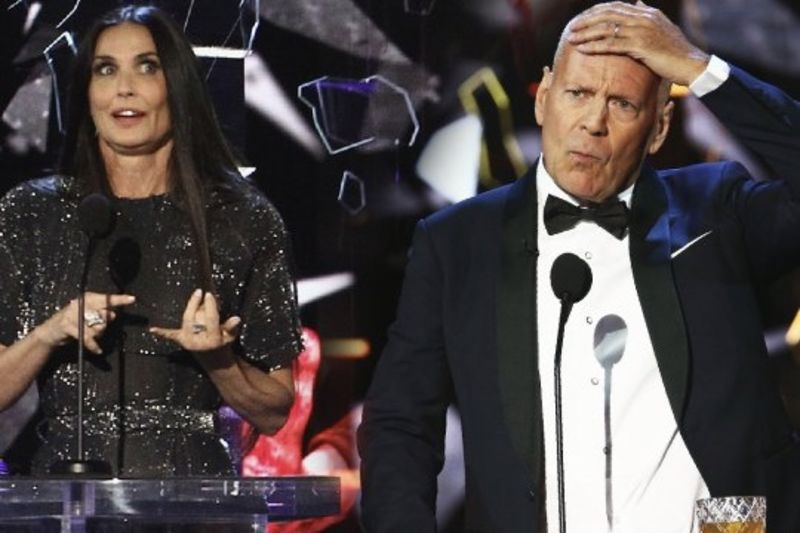 Video: Demi Moore Dished Out Some Epic Burns At Bruce Willis