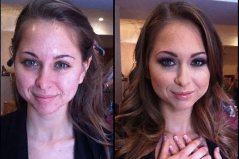 Video: Adult Film Stars Before And After Their Unbelievable Makeup Transformation 1