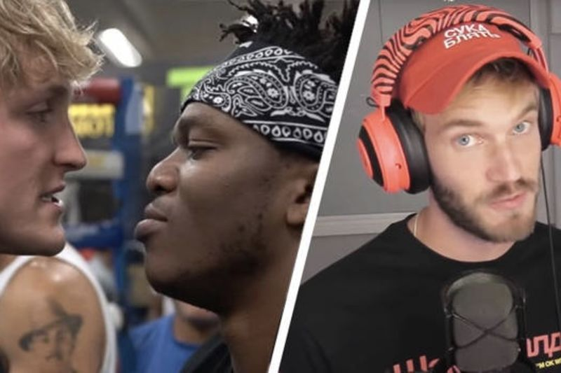 PewDiePie Weighs in on the KSI and Logan Paul Fight 1
