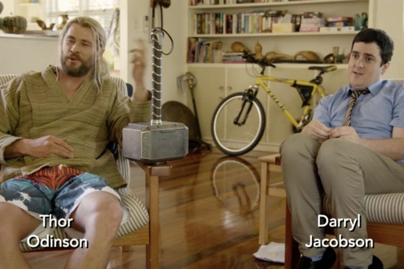 Thor And Darryl Are Back In A Hilarious New Promo Skit 1