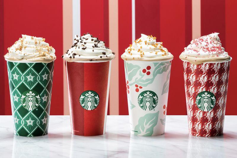Starbucks New Christmas Cups 1