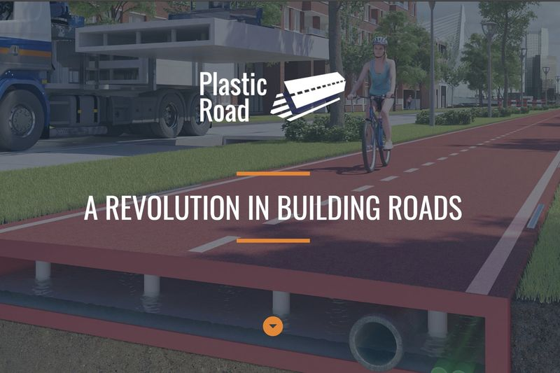 Roads Made With Recycled Plastic 1