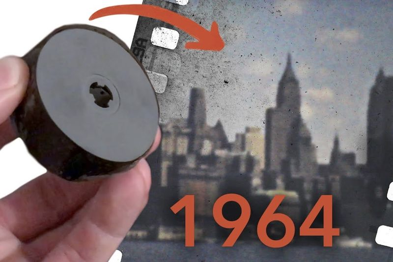 Finding An Undeveloped Film From 1964 1
