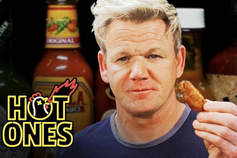 Gordon Ramsay Savagely Critiques Spicy Wings 1