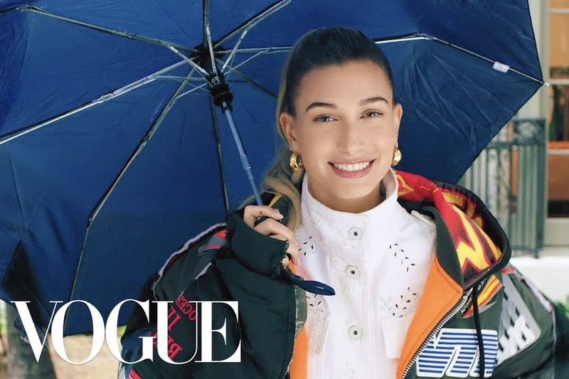 73 Questions with Hailey Bieber | Vogue 1